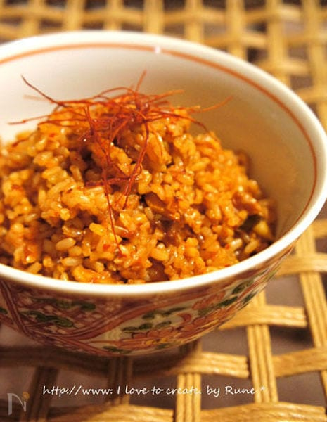キムチ玄米チャーハン