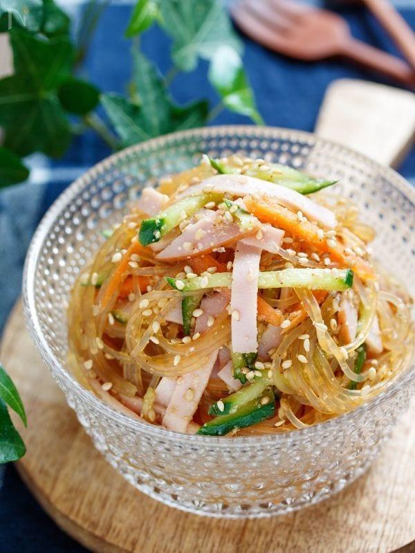 味がしみしみ♡中華風春雨サラダ【#水戻し不要 #レンジ】