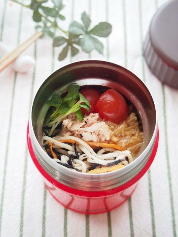 【スープジャー】ひじきとツナのサラダそば