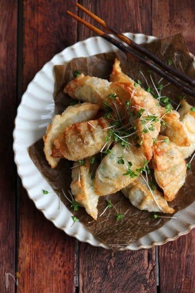 エビチーズ揚げ餃子
