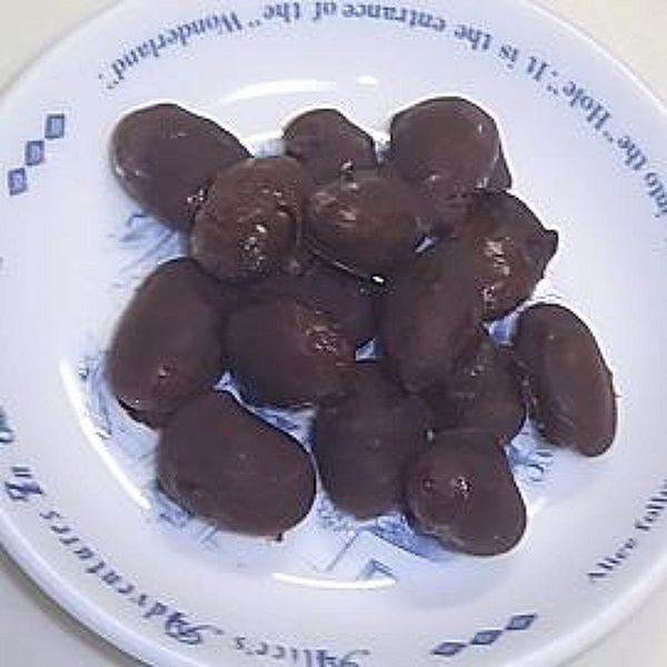金時豆チョコレート