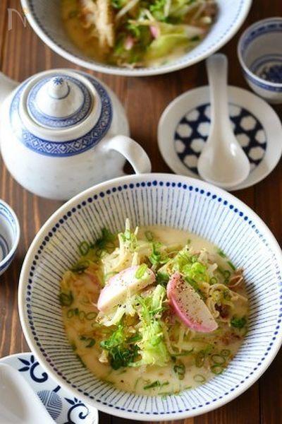 長崎ちゃんぽん風食べる野菜スープ