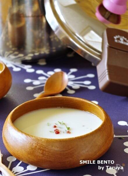 圧力魔法鍋でカリフラワーのスープ
