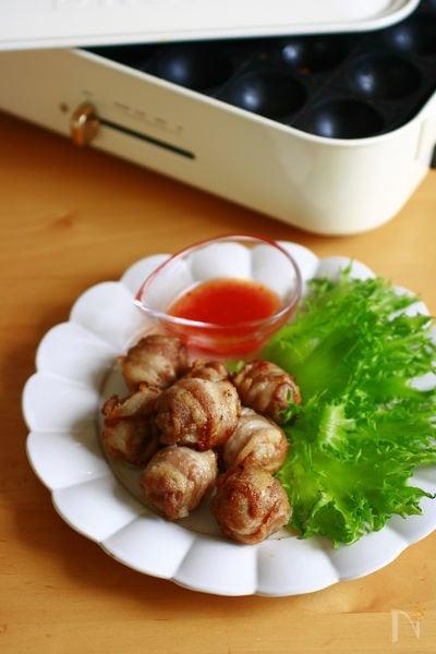 豚バラトマト焼き