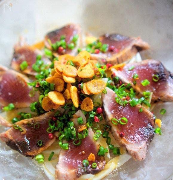 魚のカルパッチョ