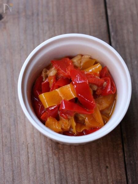 8.パプリカのトマト煮
