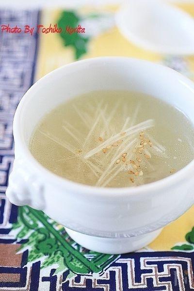 鶏がら大根スープ