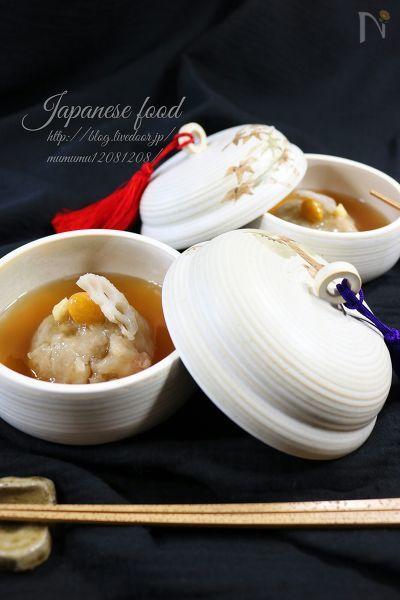 【基本の和食】蓮根饅頭