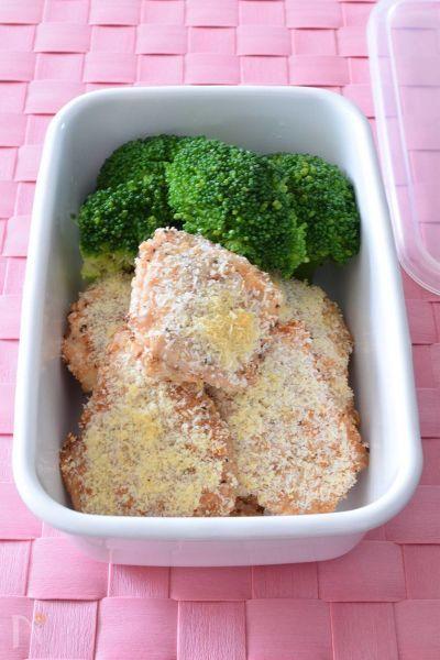 3. 鶏肉のあらびきパン粉焼き