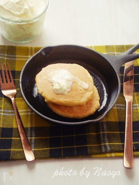 おから&大豆粉のパンケーキ