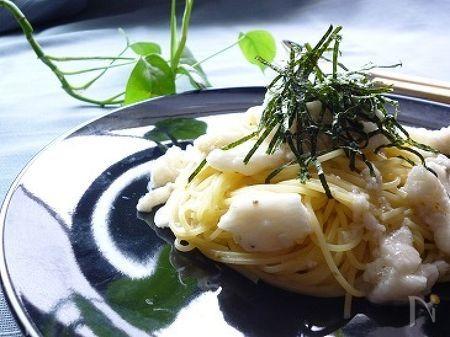 時短簡単♪長いものスパゲティ☆柚子こしょう風味