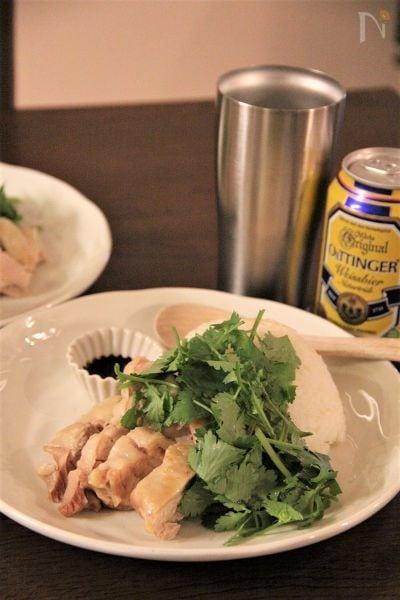 4.シンガポールのチキンライスレシピ