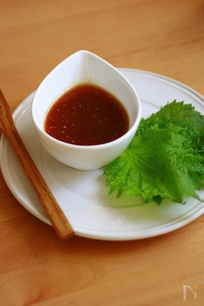 梅醤油ダレ