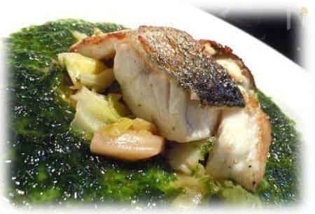 自宅フレンチ 魚のニンニク ノリ佃煮 貰い物 化かし🎶の術