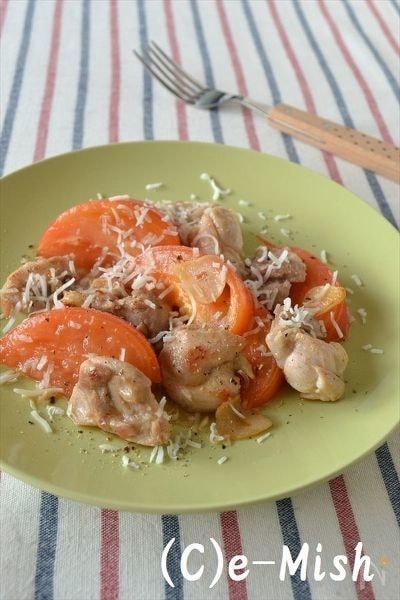 【ココナッツオイル】鶏肉とトマトのココナッツオイル炒め