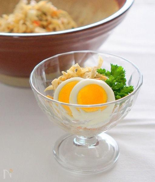 柚子胡椒味のデリサラダ