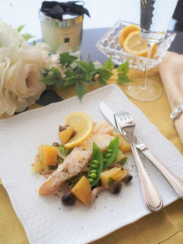 まるでレストラン♡フライパン一つで白身魚のポワレ