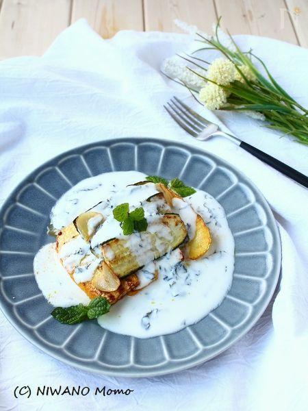 肉でも魚でも野菜でも! 万能ミントヨーグルトソース