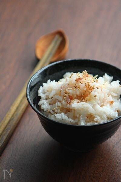 梅生姜ご飯。