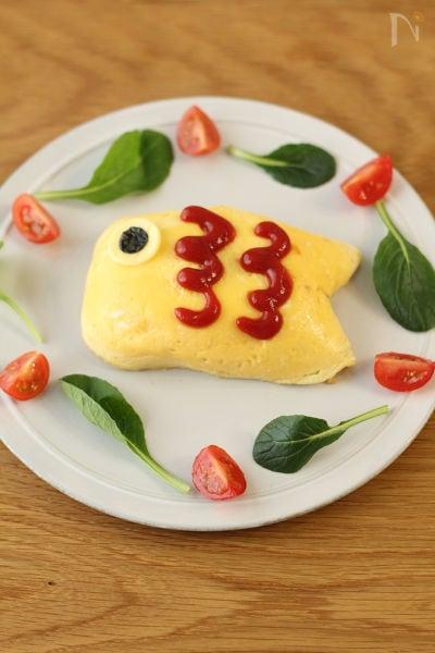 こどもの日のお祝いに!こいのぼりオムライス