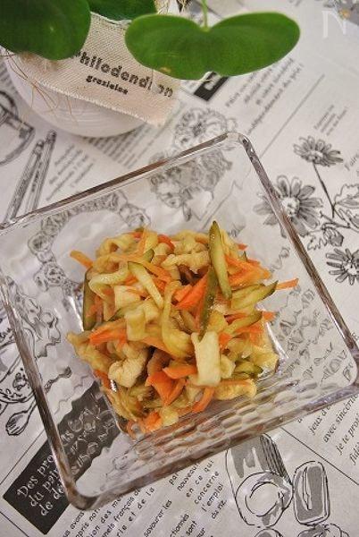 切干大根のすっぱサラダ