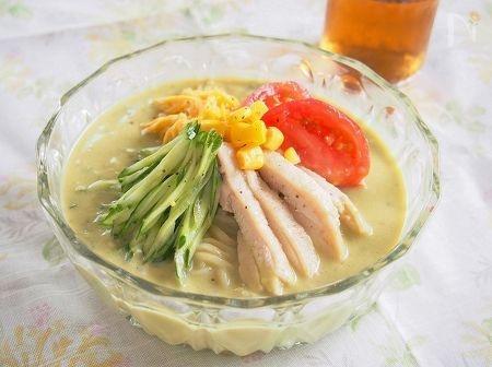 4. アボカド冷やし麺