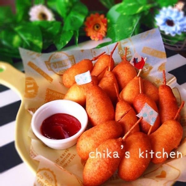 子供も大人も集まれ!「アメリカンドッグ」の基本レシピ&作り方5選
