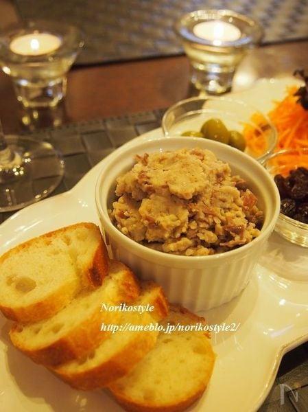 金時豆と胡麻の和ディップ