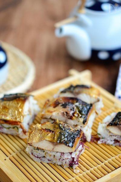 ふのり入りさっぱり焼き鯖寿司