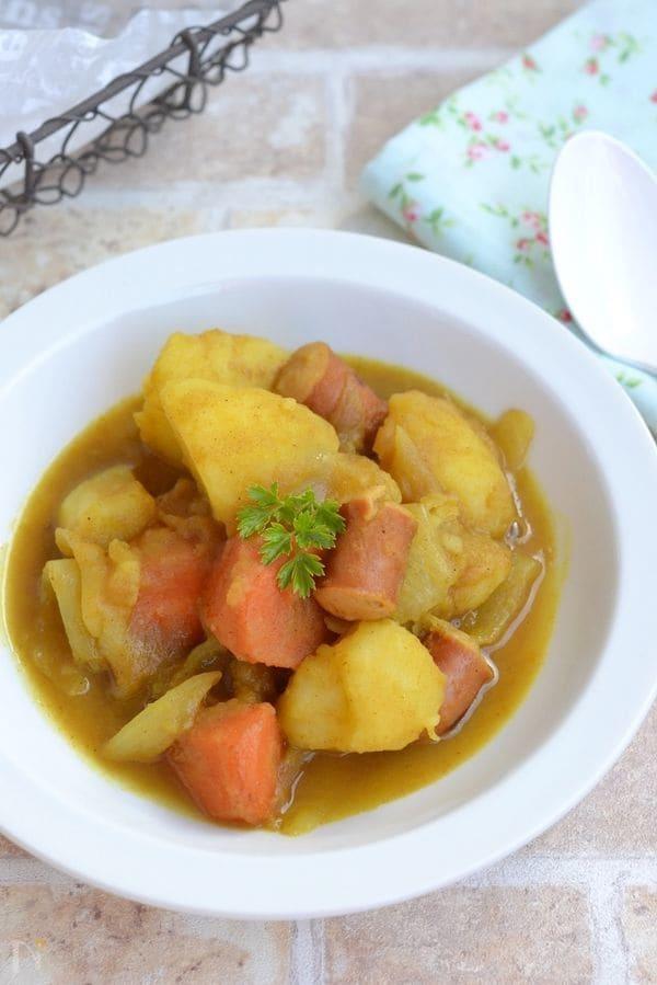 野菜のはちみつカレー煮込み
