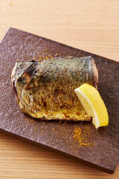 カレーマリネ焼き鯖