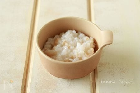 離乳食 ツナ缶の使い方(ツナがゆ)