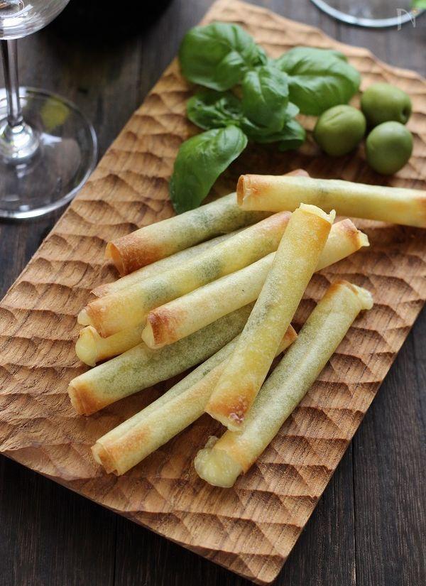 チーズスティック焼き春巻き