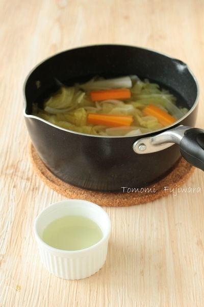 野菜だし・野菜スープ