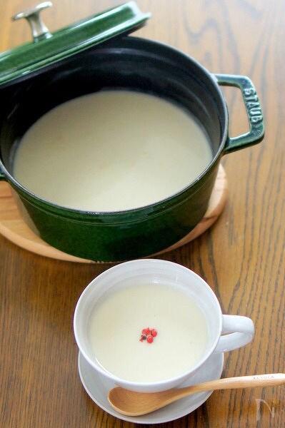 里芋の和風ポタージュ白味噌味