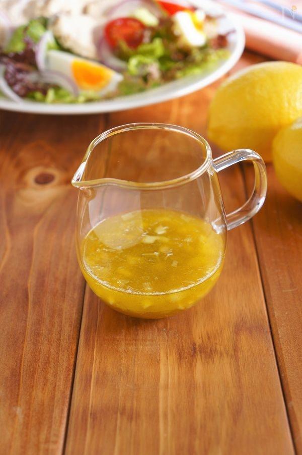ドレッシング レモン 汁