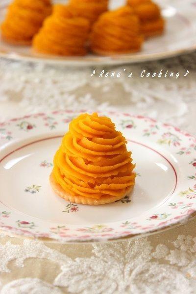 簡単♪かぼちゃのモンブラン