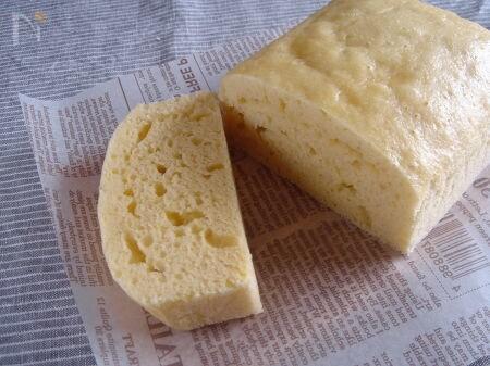チーズ蒸しパン。