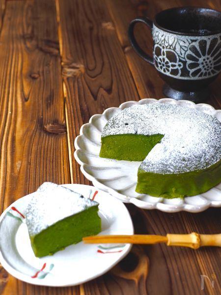 ほろ苦感がクセになる♪作りたくなる簡単「抹茶ケーキ」レシピ21選