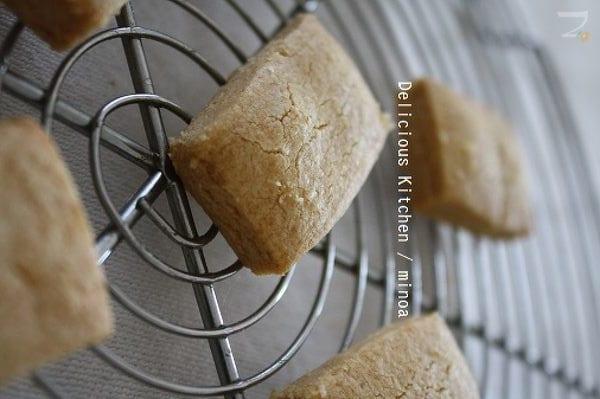 ちんすこう風クッキー(バター、卵不使用)