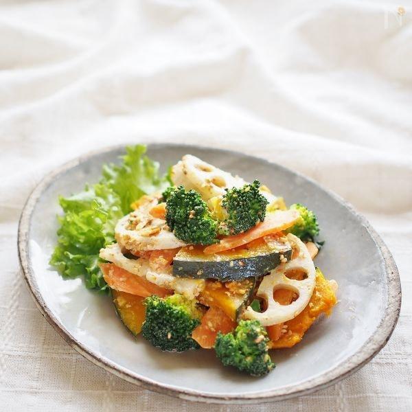 根菜の胡麻マヨサラダ