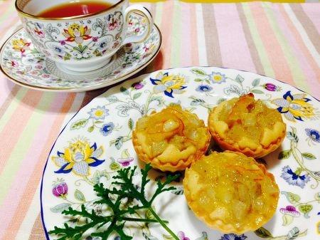 根菜のアマンディーヌ(アーモンド風のタルト)