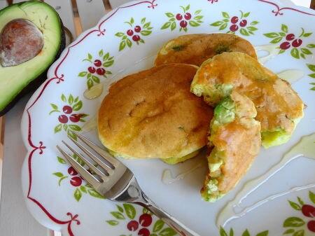 アボカドパンケーキ