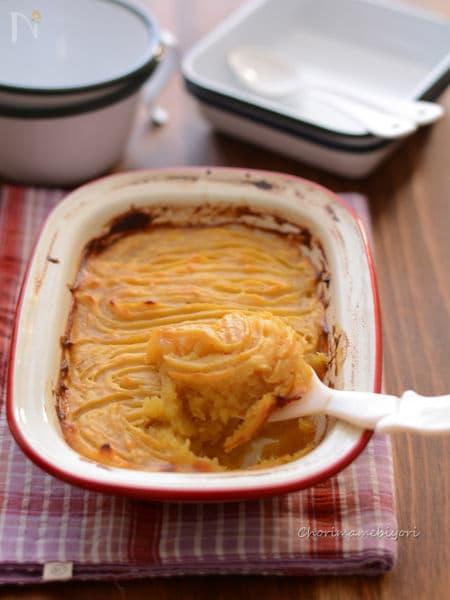 焼き芋使用で香ばしいスコップスイートポテト
