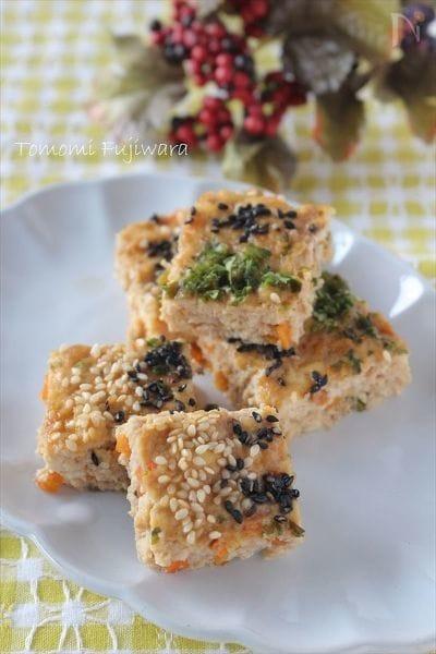 鶏と豆腐のふんわり松風焼き