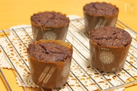 豆腐のチョコレートマフィン