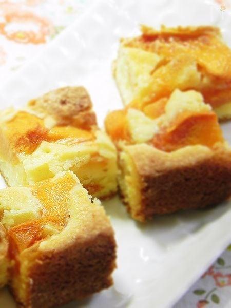 柿のスクエアケーキ