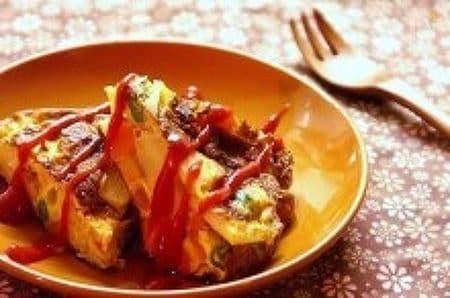 野菜たっぷりのスパニッシュオムレツ
