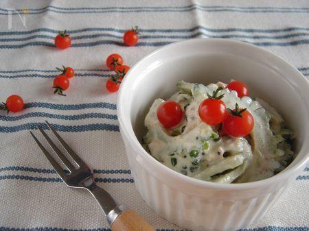 ゴーヤとツナのサラダ。