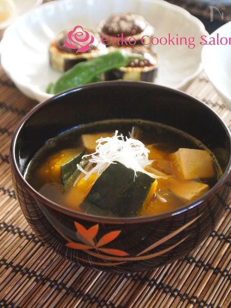 かぼちゃのけんちん汁